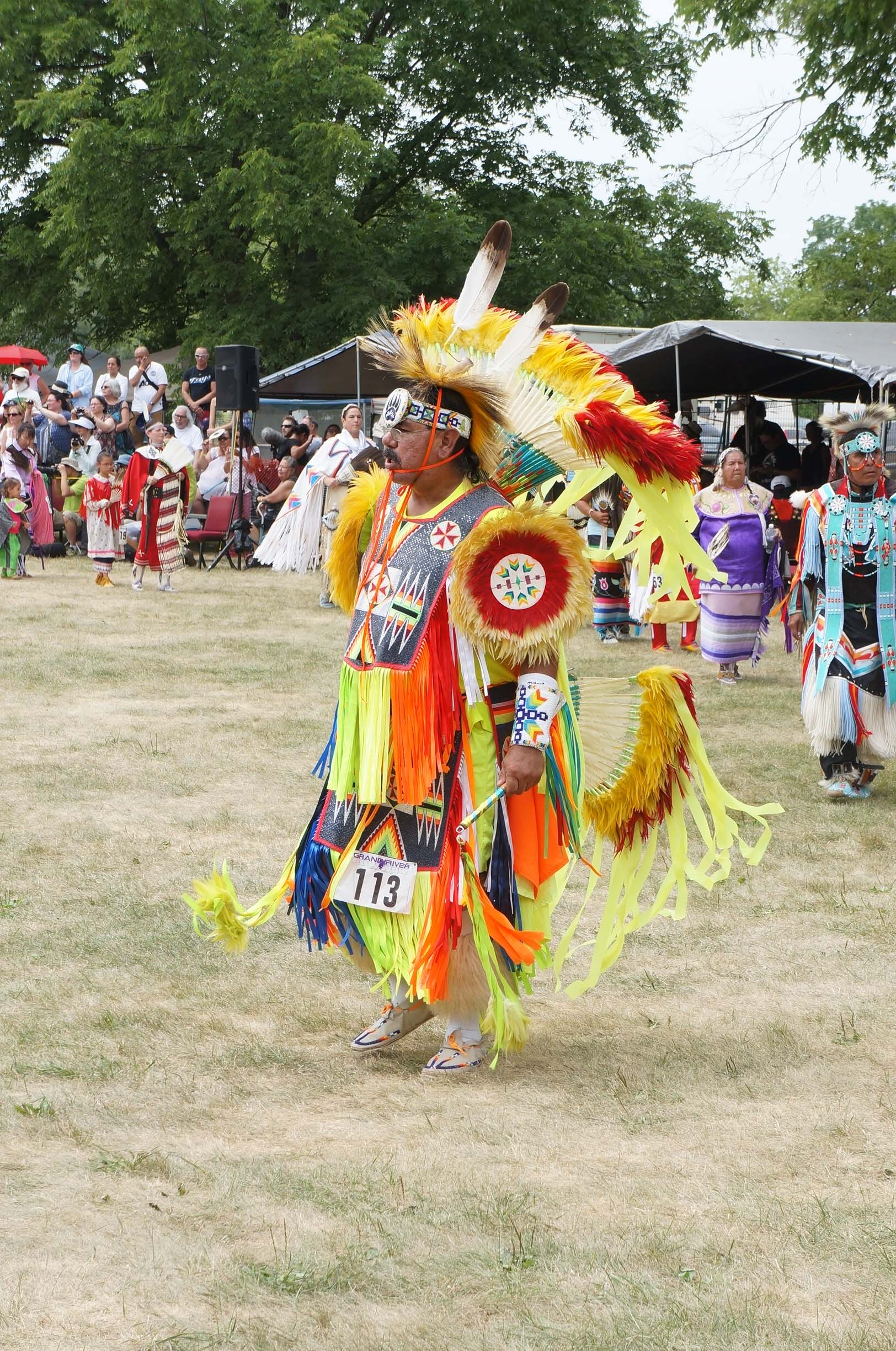 Pow Wow Dancer